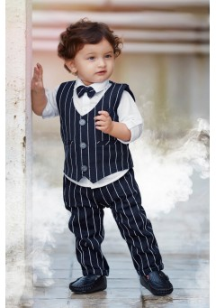boys 3pc stripe fu..