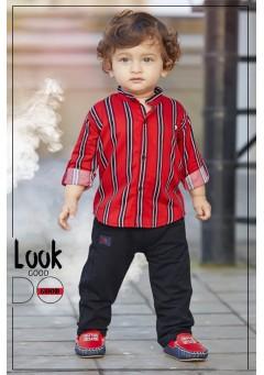 Little boys stripe..