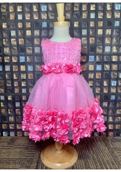 Girls party frock-..